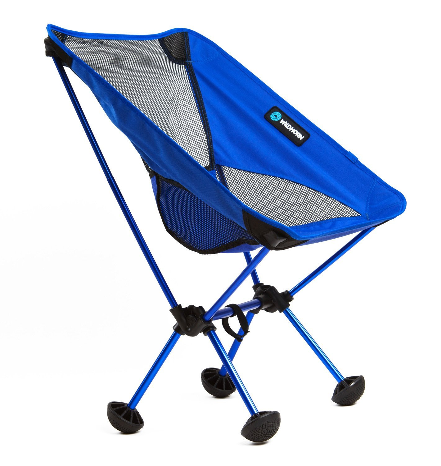 Wildhorn Outfitters TerraLite Portable Folding Camping & Beach Chair, Dark Blue