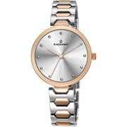 WATCH RADIANT METAL STEEL TWO TONE GOLD PINK WOMAN RA443205