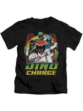 Power Rangers - Dino Lightning - Juvenile Short Sleeve Shirt - 4