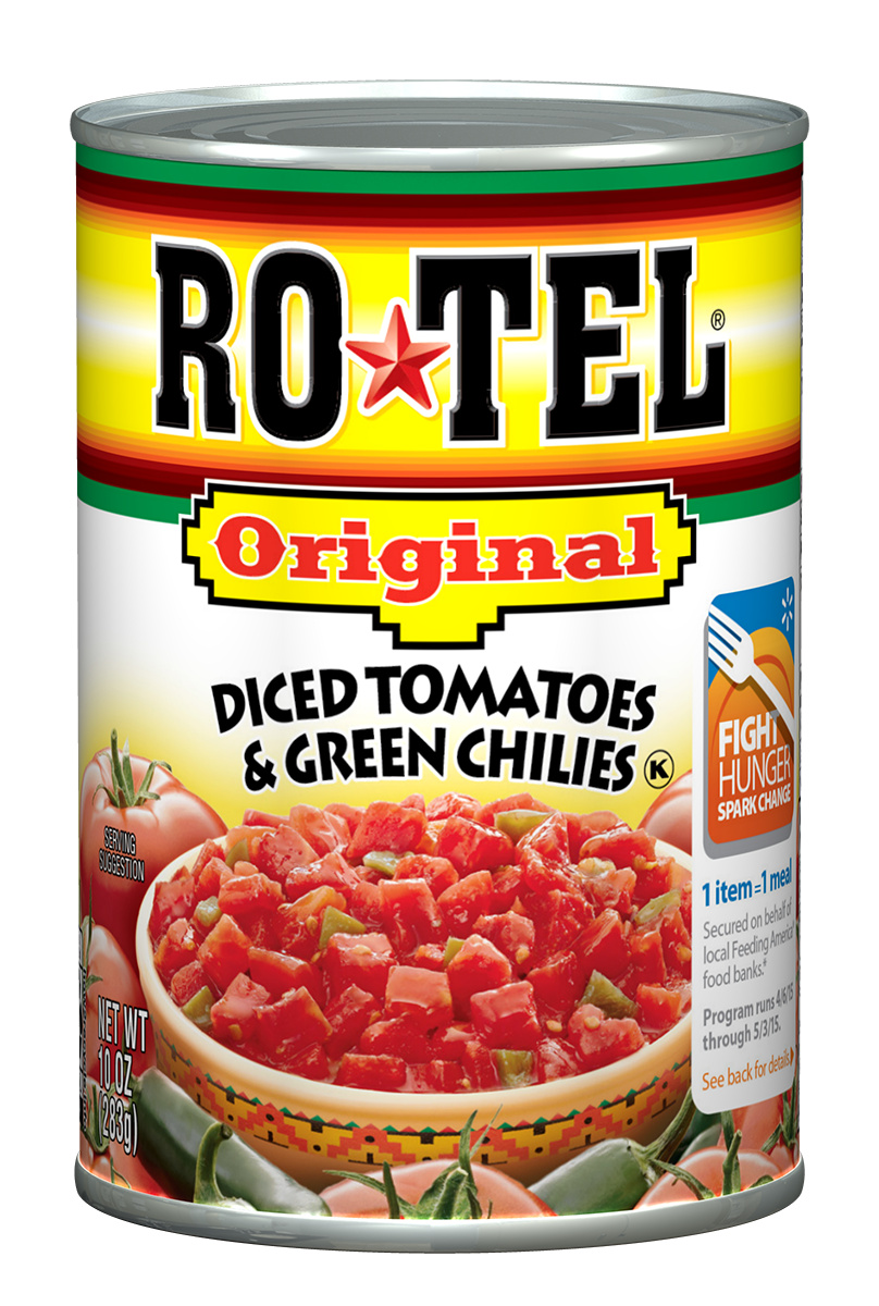 RO*TEL Original Diced Tomatoes & Green Chilies, 10 Oz by Conagra Brands