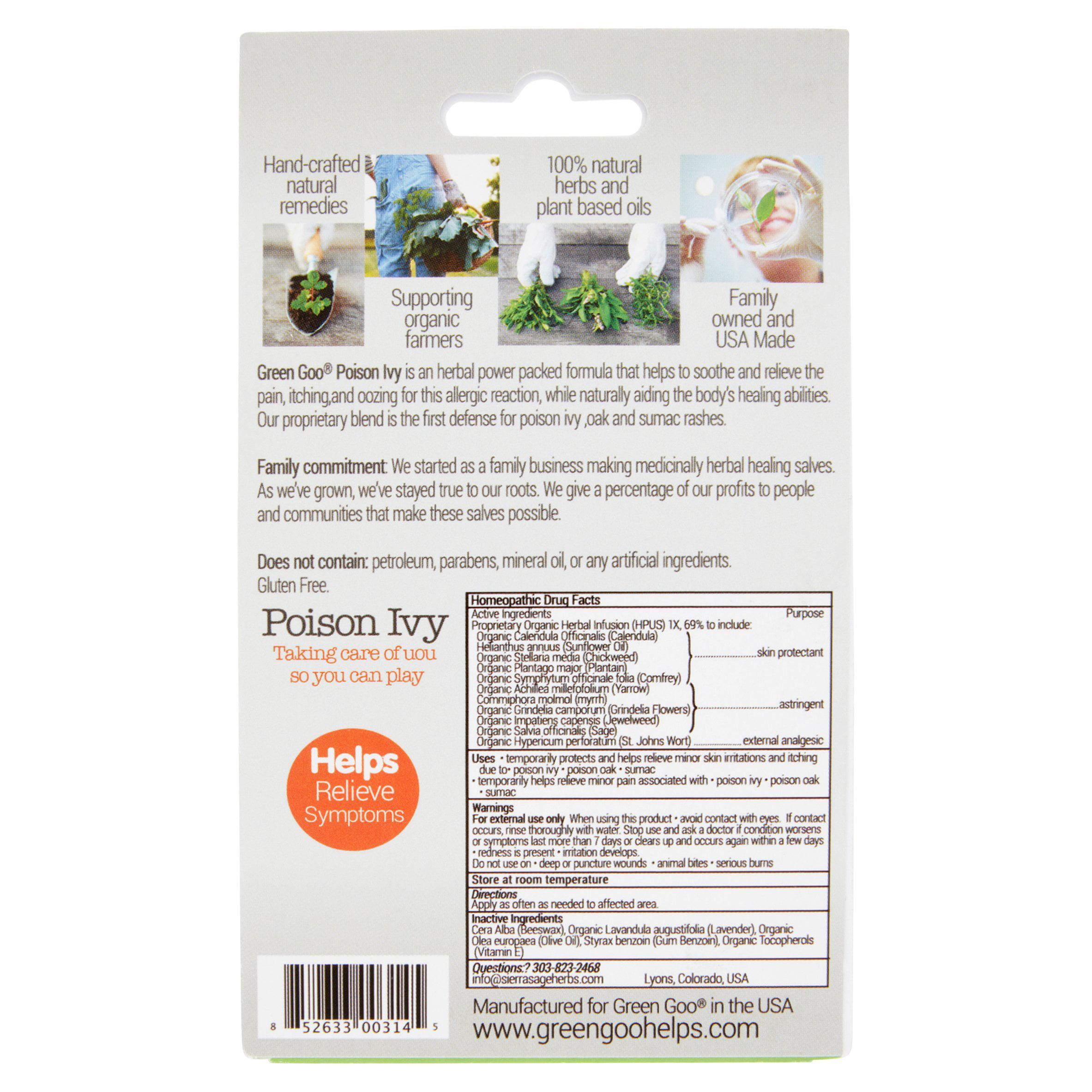 Green Goo Poison Ivy, 1 82 oz
