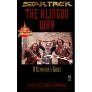 Star Trek Klingon : A Warrior's Guide = Tlhingan Ghobmey Paq