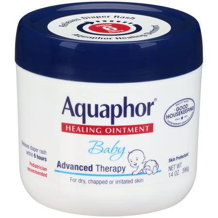 Aquaphor Baby Advanced Therapy Healing Ointment, 14 oz. Jar
