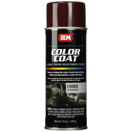 - Sem Paints SEM-15063 Color Coat - Burgundy