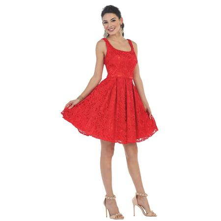Dainty Short Lace Dress Plus Size Walmart