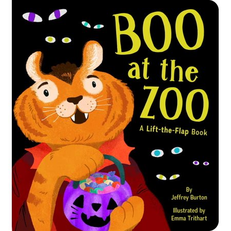 Boo at the Zoo (Board Book) - Halloween Zoo Events