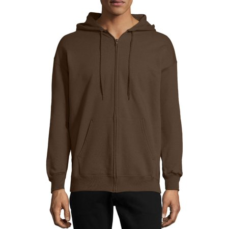 Men's Ultimate Cotton Heavyweight Fleece Full Zip Hood ()
