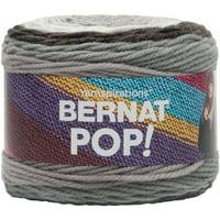 Bernat Acrylic Pop Hot Chocolate Yarn, 1 Each
