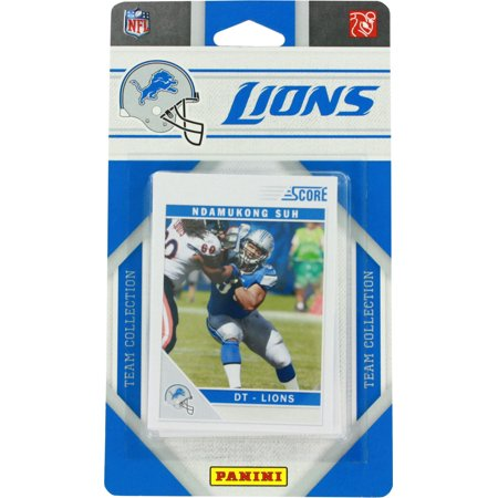 Lions Team Card (2011 Panini Detroit Lions Team Collection Trading Cards )