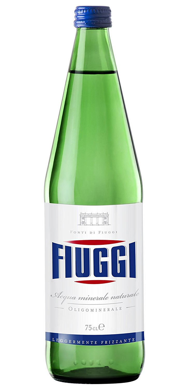 Fiuggi Sparkling Water 1 Liter (6 Bottles) by Sparkling Water