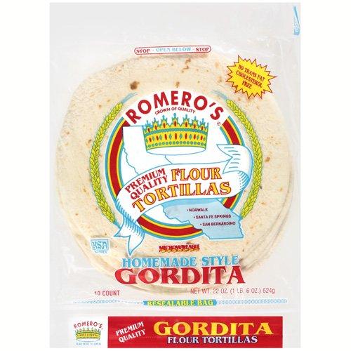 Romero's: Gordita Flour Tortillas, 22 Oz