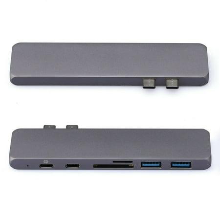 LivEditor USB C Hub, USB Type C Adapter with 4K HDMI, Thunderbolt 3, Type C, 2 USB 3.0 - image 5 of 7