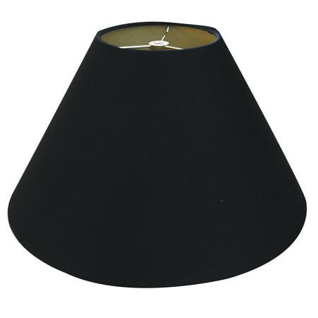 Royal Designs 18 Quot Coolie Empire Hardback Lamp Shade Black