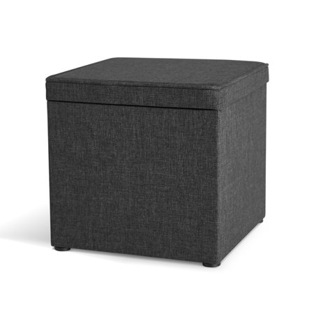 Brilliant Better Homes Gardens Storage Ottoman With Tray 16 Grey Gmtry Best Dining Table And Chair Ideas Images Gmtryco
