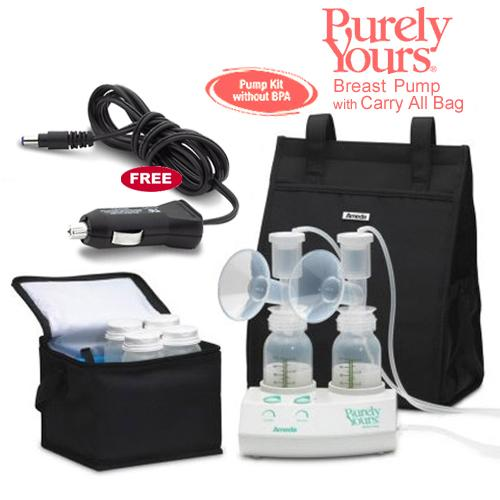 Ameda 17077KIT7 Purely Yours Breast Pump Combo 7 with Carry All Bag and a Fr by