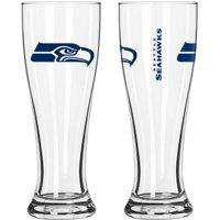 Boelter Brands NFL Seattle Seahawks 2-Pack Gameday Pilsner Set