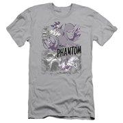 Phantom Ghostly Collage Mens Slim Fit Shirt