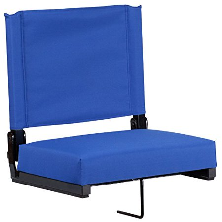 Flash Furniture Game Day Seats by Flash with Ultra-Padded Seat, Blue
