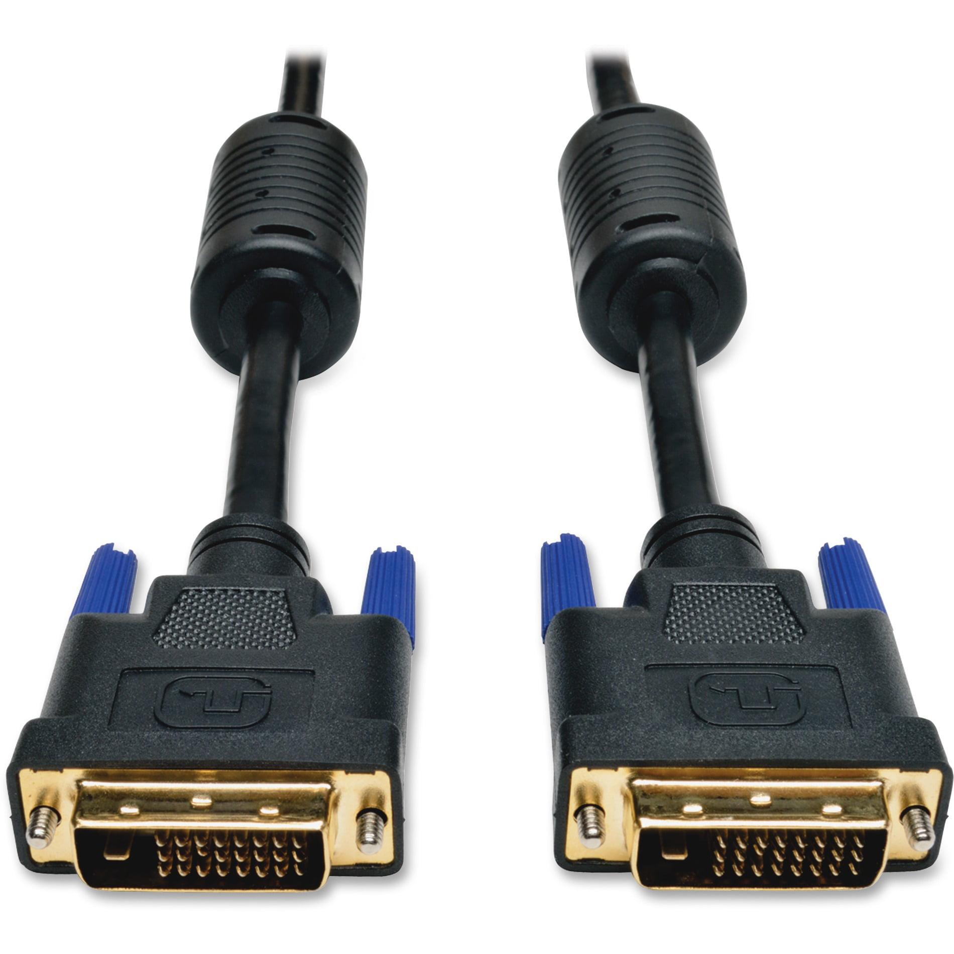Tripp Lite, TRPP560006, DVI Dual Link Cable, 1, Black