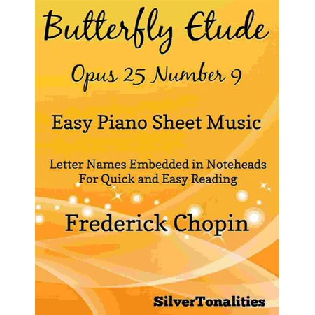 Butterfly Etude Easy Piano Sheet Music - eBook - This Is Halloween Sheet Music Piano Easy