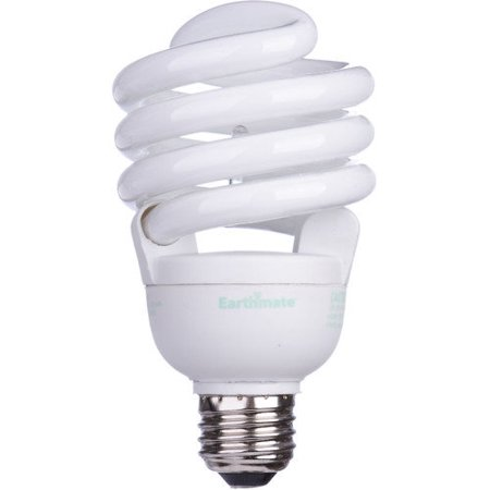 earthmate 30w 5000k compact fluorescent light bulb. Black Bedroom Furniture Sets. Home Design Ideas