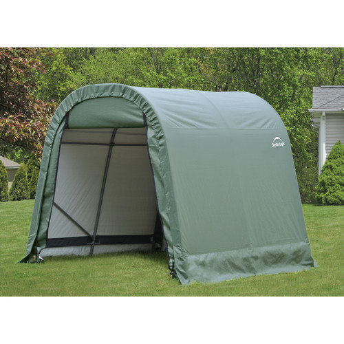 8' x 16' x 8' Round Style Shelter, Green