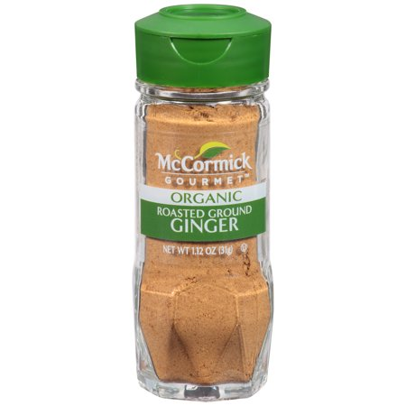 McCormick Gourmet Organic Roasted Ground Ginger, 1.12 oz - Ginger Spice Halloween