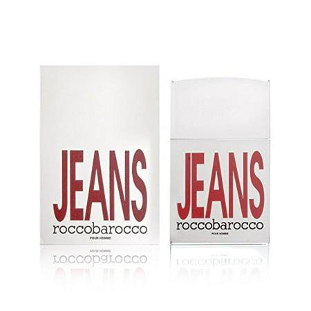 Barocco Gift (Rocco Barocco Eau de Toilette Spray, Silver Jeans, 2.5)