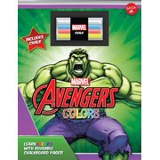 Marvel's Avengers Chalkboard Colors : Learn Colors with Reusable Chalkboard Pages!