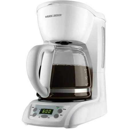 BLACK+DECKER 12-Cup Programmable Coffeemaker, DLX1050W - Walmart.com
