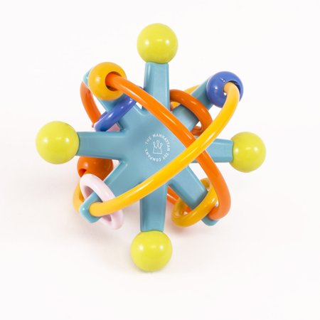 Manhattan Toy Stellar Rattle Baby Toy with BPA-free Teething Rings