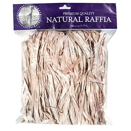 30000 Natural - SuperMoss (30000) Raffia, Natural, 2oz