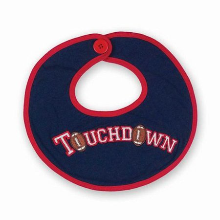 Bearington Baby 198923 Touchdown Football Bib