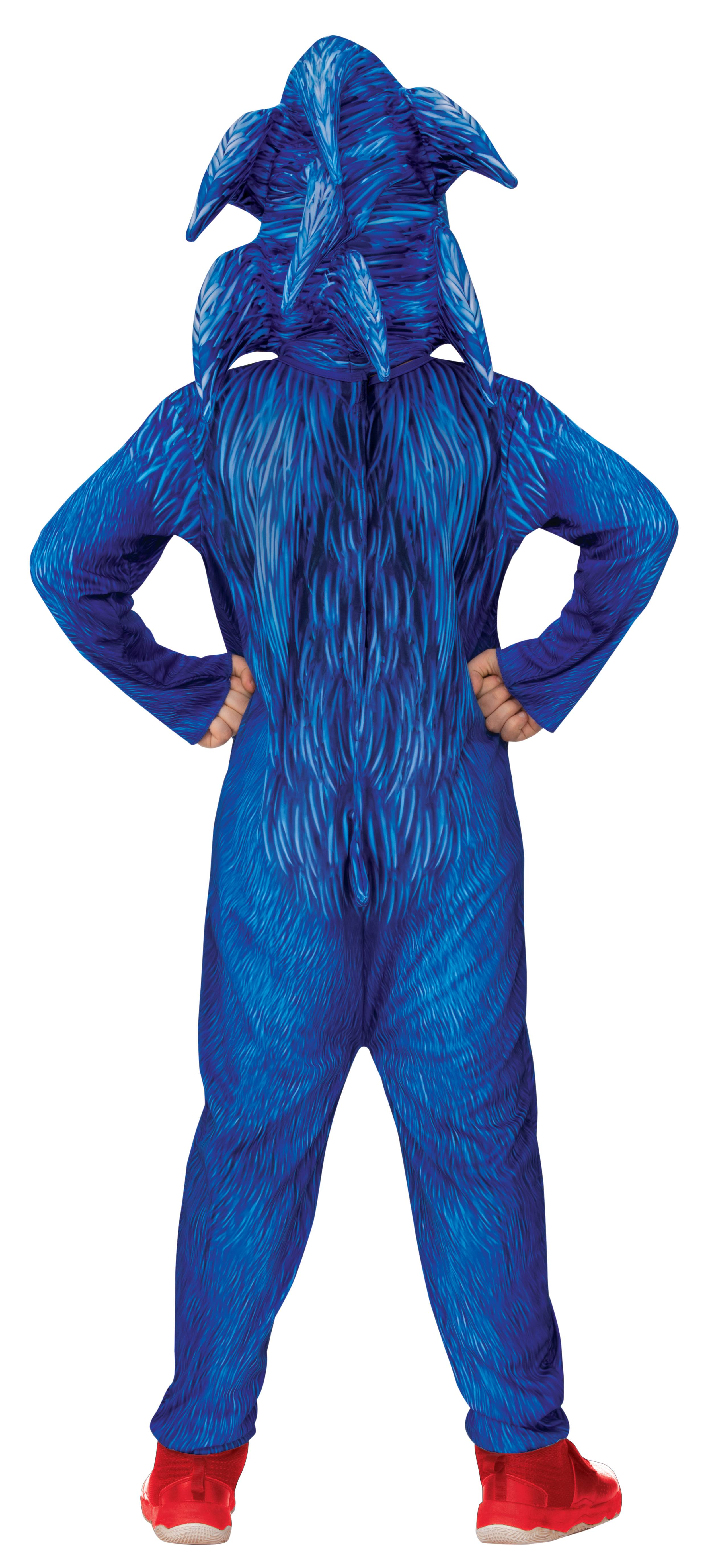 Rubie S Sonic Child Halloween Costume Walmart Com Walmart Com