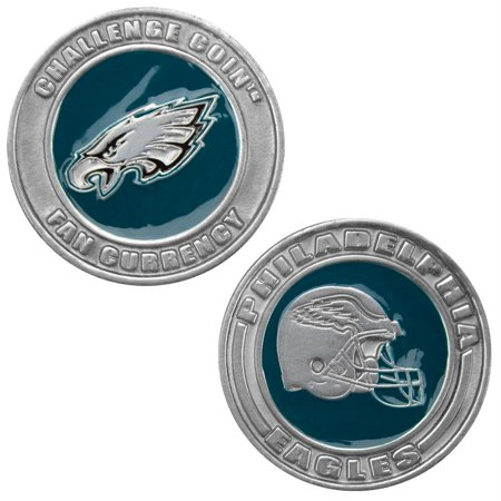 Challenge Coin Card Guard - Philadelphia Eagles