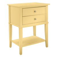 Deals on Ameriwood Home Franklin Accent Table w/2 Drawers