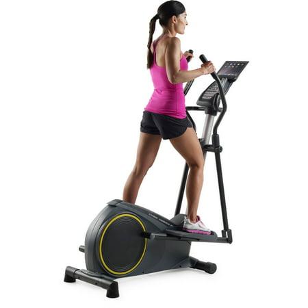 Gold S Gym Stride Trainer 350i Elliptical With Tablet