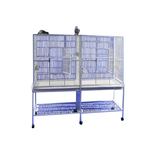 A&E Cage Co. Double Flight Bird Cage with Divider by A&E Cage Co.