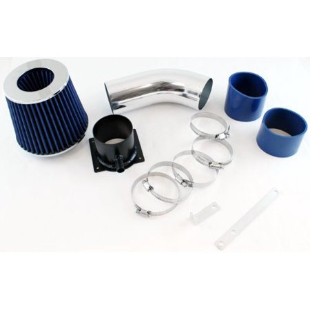 1996 1997 1998 1999 2000 Audi A4 / A6 2.8L V6 Short Ram Air Intake System with Filter - Blue ()