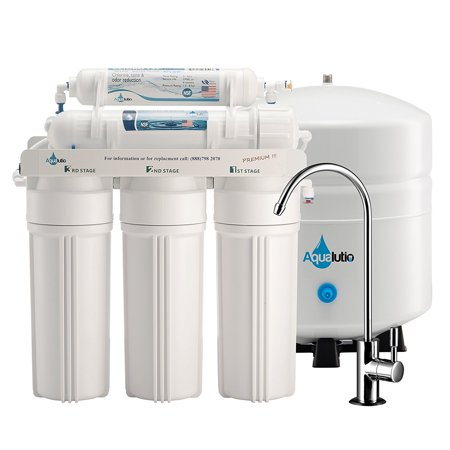 AquaLutio, Premium 5-Stage Reverse Osmosis Filtration Home System For Clean And Healthy Drinking (Best Reverse Osmosis Water Filtration System)