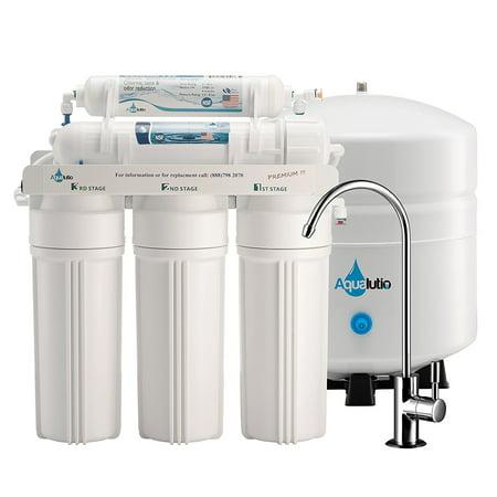 Aqualutio Premium 5 Stage Reverse Osmosis Filtration Home