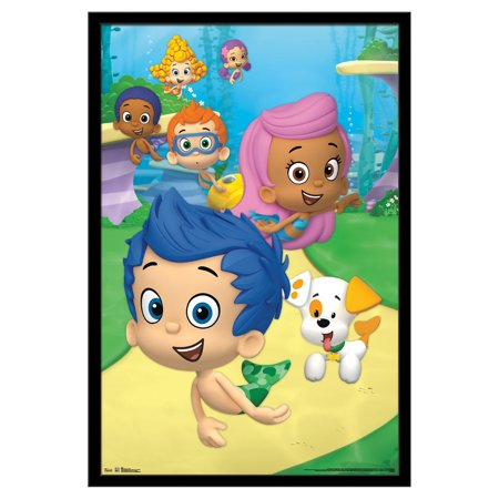 Bubble Tea Poster - Trends International Bubble Guppies Group Wall Poster 22.375