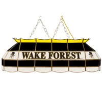 "NCAA Wake Forest University 40"" Stained Glass Billiard Table Light Fixture"