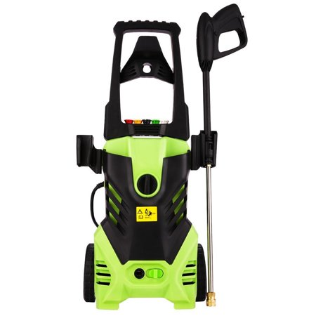 Electric Pressure Washer, Power Washer with 2200 PSI,1.8GPM, (5) Nozzle Adapter, Longer Cables and Hoses and Detergent Tank,for Cleaning Cars, Houses Driveways, Patios,and