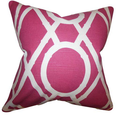 Corrigan Studio Damian Geometric Floor Pillow