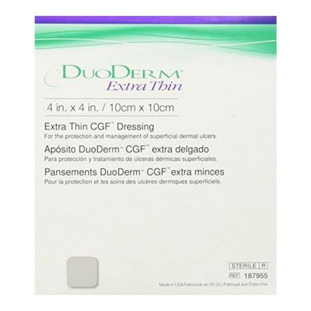 DuoDerm Extra Thin Hydrocolloid Dressing 187955 1 Each,
