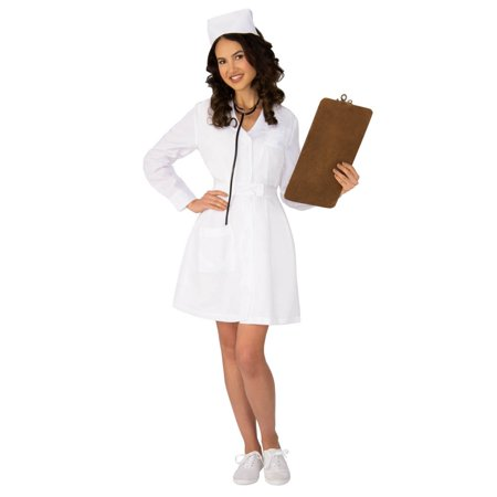 Womens Vintage Nurse Costume](Cute Nurse Costume)
