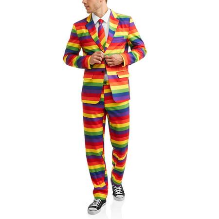 Mens Not So Suit Suit 3 Piece Suit  Up To Size 2Xl