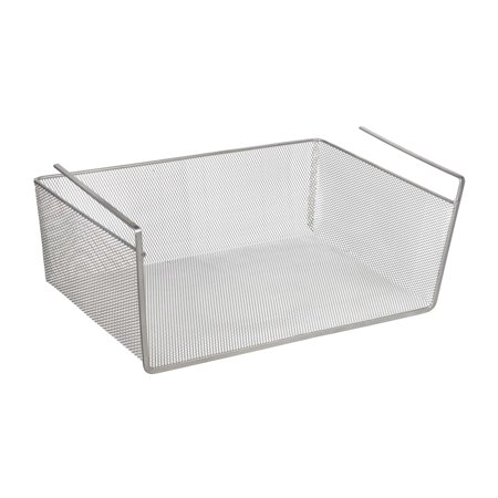Design Ideas Undershelf Basket Mesh Large Silver](Chinese Auction Basket Ideas)