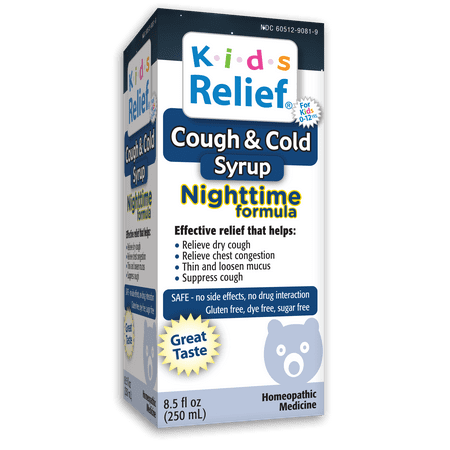Homeolab Kids Relief Cough & Cold Nighttime, 8.5 Fl